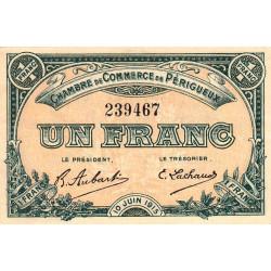 Périgueux - Pirot 98-10 - 1 franc - 10/06/1915 - Etat : SUP+ à SPL