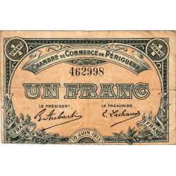 Périgueux - Pirot 98-10 - 1 franc - 10/06/1915 - Etat : TB