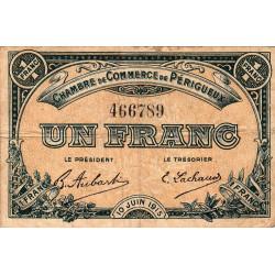 Périgueux - Pirot 98-10 - 1 franc - 10/06/1915 - Etat : TB-