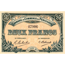 Périgueux - Pirot 98-11 - 2 francs - 10/06/1915 - Etat : SPL