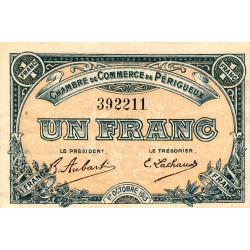 Périgueux - Pirot 98-13 - 1 franc - 01/10/1915 - Etat : TTB