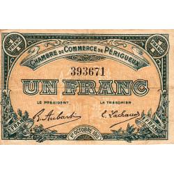 Périgueux - Pirot 98-13 - 1 franc - 01/10/1915 - Etat : TB