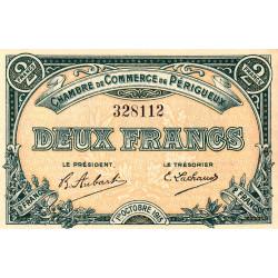 Périgueux - Pirot 98-14 - 2 francs- 01/10/1915 - Etat : SPL