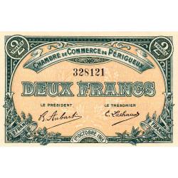 Périgueux - Pirot 98-14 - 2 francs- 01/10/1915 - Etat : NEUF