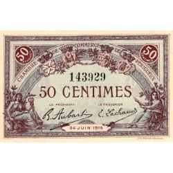 Périgueux - Pirot 98-16 - 50 centimes - 24/06/1916 - Etat : SUP+