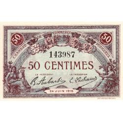 Périgueux - Pirot 98-16 - 50 centimes - 24/06/1916 - Etat : NEUF