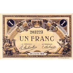 Périgueux - Pirot 98-18 - 1 franc - 24/06/1916 - Etat : pr.NEUF