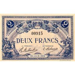 Périgueux - Pirot 98-20 - 2 francs - 24/06/1916 - Etat : NEUF