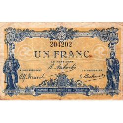 Périgueux - Pirot 98-26 - 1 franc - 13/06/1920 - Etat : B+