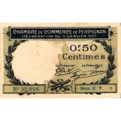 Perpignan - Pirot 100-33-EP6 - 50 centimes - Etat : TTB