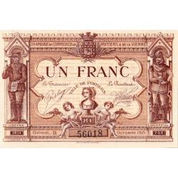 Poitiers - Vienne - Pirot 101-6-B - 1 franc - Etat : NEUF