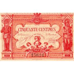 Poitiers - Vienne - Pirot 101-8-A2 - 50 centimes - Etat : SPL