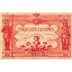 Poitiers - Vienne - Pirot 101-8 - 50 centimes - Série I2 - 07/1917 - Etat : SUP