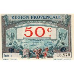 Région Provençale - Pirot 102-1 - 50 centimes - Série I - Sans date - Etat : NEUF