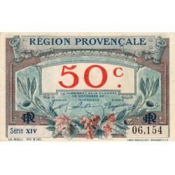 Région Provençale - Pirot 102-1 - 50 centimes - Série XIV - Sans date - Etat : NEUF