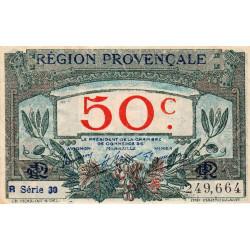 Région Provençale - Pirot 102-13 - 50 centimes - R Série 30 - Sans date - Etat : SUP