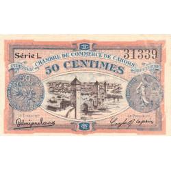 Cahors (Lot) - Pirot 35-23 - Série L - 50 centimes - 1919 - Etat : SUP