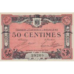 Angoulême - Pirot 9-13 - 50 centimes - 1915 - Etat : SPL