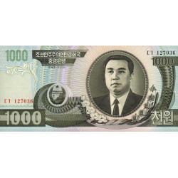Corée du Nord - Pick 45a - 1'000 won - 2002 - Etat : NEUF