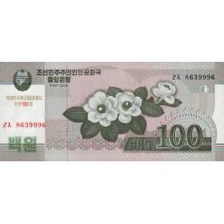 Corée du Nord - Pick CS 12_2 - 100 won - 2012 - Commémoratif - Etat : NEUF