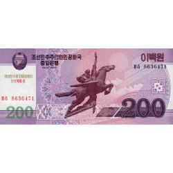 Corée du Nord - Pick CS 13_2 - 200 won - 2002 (2012) - Commémoratif - Etat : NEUF