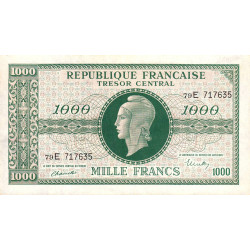 VF 13-02 - 1000 francs - Marianne - 1945 - Etat : SUP+