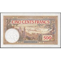 Maroc - Pick 15b - 500 francs - Série P.479 - 10/11/1948 - Etat : pr.NEUF