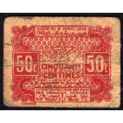 Maroc - Pick 41 - 50 centimes - 06/04/1944 - Etat : TB-