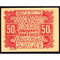 Maroc - Pick 41 - 50 centimes - 06/04/1944 - Etat : NEUF