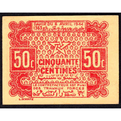 Maroc - Pick 41 - 50 centimes - 1944 - Etat : NEUF