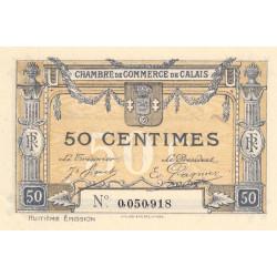Calais - Pirot 36-42 - 50 centimes - 1920 - Etat : SUP+
