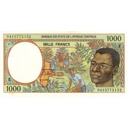 Cameroun - Afrique Centrale - P 202Eb - 1'000 francs - 1994 - Etat : SUP