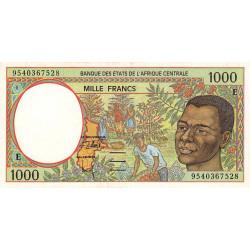 Cameroun - Afrique Centrale - P 202Ec - 1'000 francs - 1995 - Etat : SUP