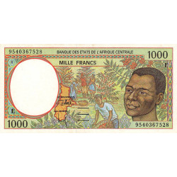 Cameroun - Afrique Centrale - Pick 202Ec - 1'000 francs - 1995 - Etat : SUP