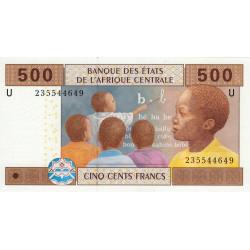 Cameroun - Afrique Centrale - Pick 206Ub - 500 francs - 2006 - Etat : NEUF