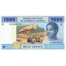 Cameroun - Afrique Centrale - P 207Ud - 1'000 francs - 2010 - Etat : NEUF