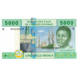Cameroun - Afrique Centrale - Pick 209Ua - 5'000 francs - 2002 - Etat : NEUF