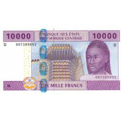 Cameroun - Afrique Centrale - P 210Ua - 10'000 francs - 2002 - Etat : NEUF