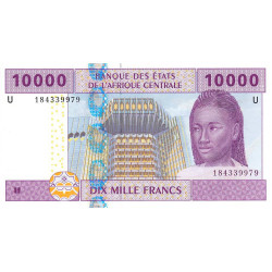 Cameroun - Afrique Centrale - P 210U-2 - 10'000 francs - 2003 - Etat : NEUF