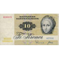 Danemark - Pick 48e - 10 kroner - 1975 - Etat : TTB
