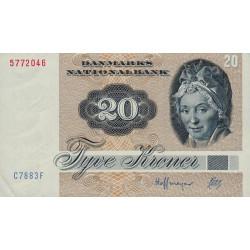 Danemark - Pick 49h - 20 kroner - Série C7 - 1988 - Etat : SPL