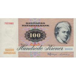 Danemark - Pick 51o - 100 kroner - Série D0 - 1986 - Etat : SPL+