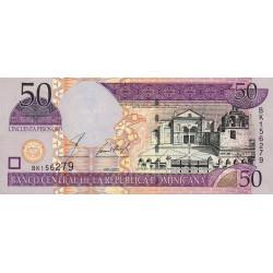 Rép. Dominicaine - Pick 170b - 50 pesos oro - 2002 - Etat : NEUF
