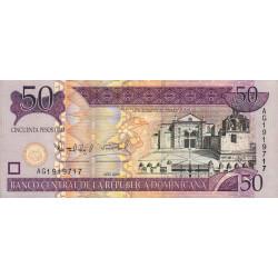 Rép. Dominicaine - Pick 176a - 50 pesos oro - 2006 - Etat : SUP