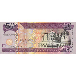 Rép. Dominicaine - Pick 176a - 50 pesos oro - 2006 - Etat : NEUF