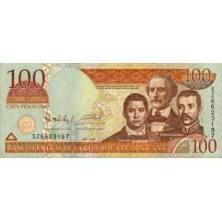 Rép. Dominicaine - Pick 177a - 100 pesos oro - 2006 - Etat : TTB