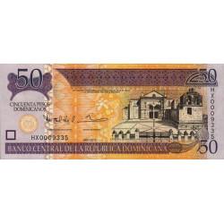 Rép. Dominicaine - Pick 183c - 50 pesos dominicanos - 2013 - Etat : NEUF