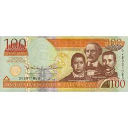 Rép. Dominicaine - Pick 184c - 100 pesos dominicanos - 2013 - Etat : NEUF
