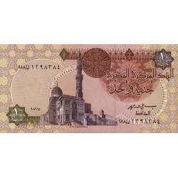 Egypte - Pick 50e_1 - 1 pound - 07/06/1995 - Etat : NEUF