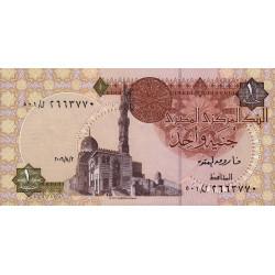 Egypte - Pick 50j - 1 pound - 02/08/2006 - Etat : NEUF